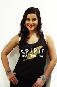 Nelly Furtado's Spirit Indestructible charity tank