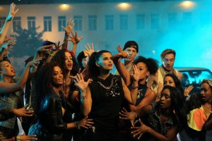 "Nelly Furtado ""Parking Lot"" video shoot"
